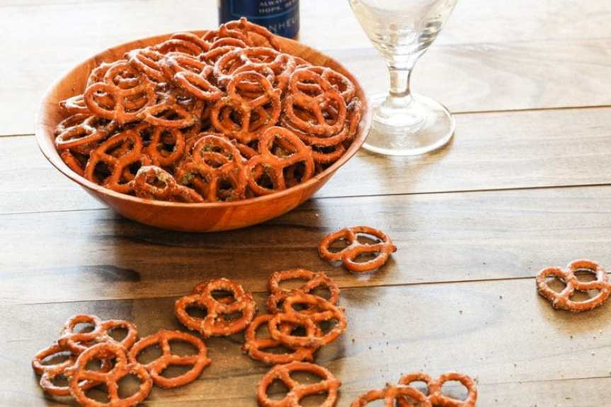 Spicy Pretzels with a Kick