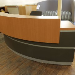 Pollock Executive Chair Replica Office Chairs Nj Custom Crescent Laminate Reception Desk • Peartree Furniture