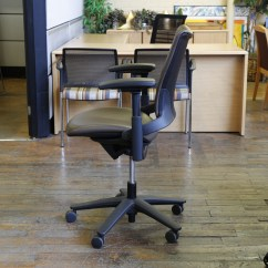 Allsteel Relate Chair Instructions Pretty Office Chairs Uk For Sale Sum Used Task Black In Brown Leather Peartree Furniture