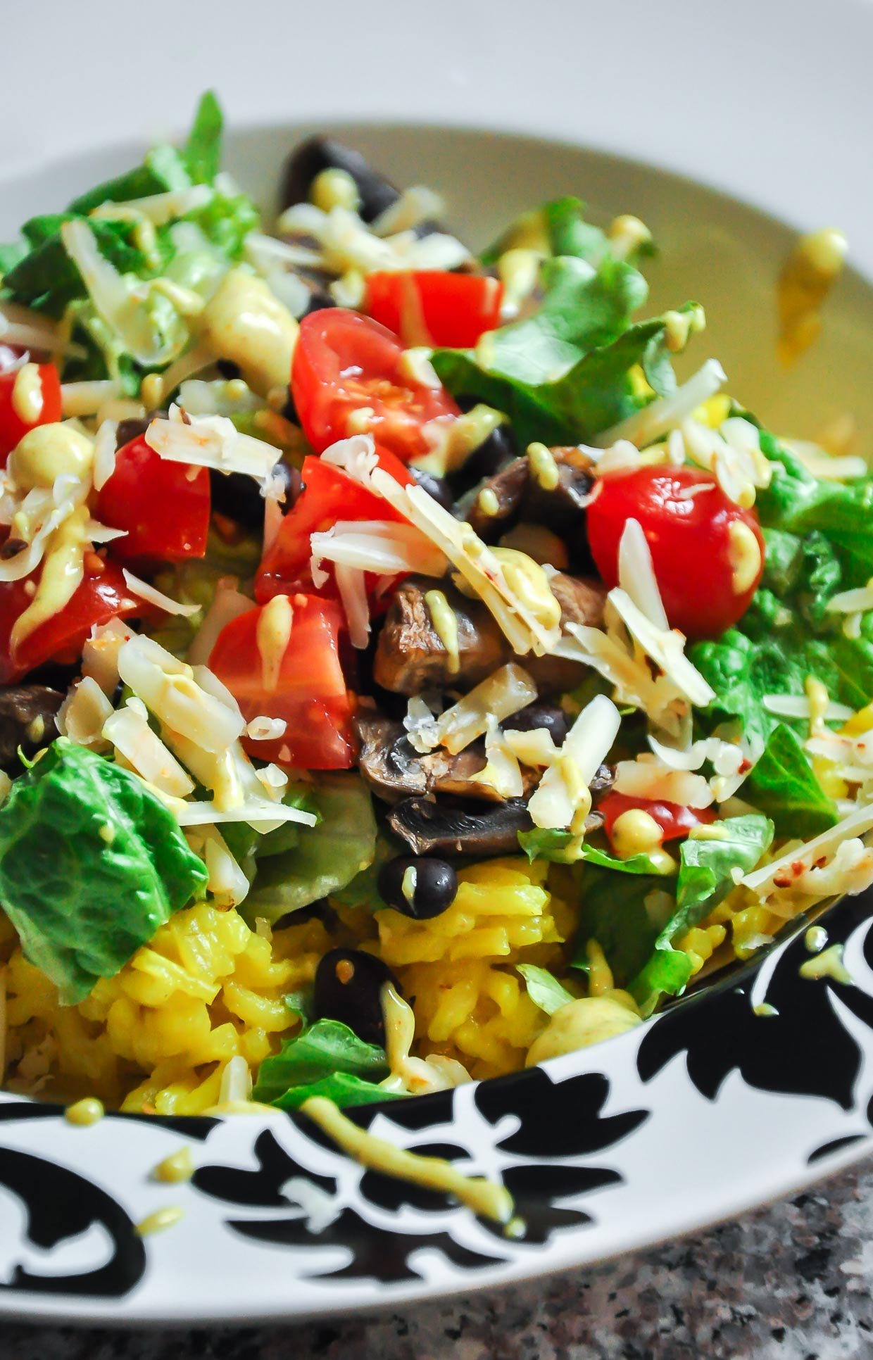 Chicken Kitchen Mexican Chop Chop Copycat with Curry Mustard Sauce