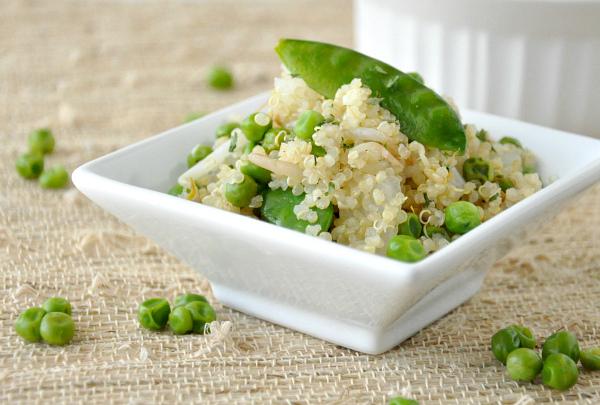 Healthy Veggie Quinoa Fried Rice Remix