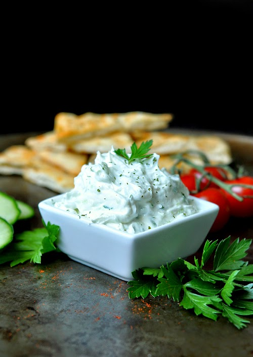Thick and Creamy Restaurant-Style Tzatziki Dip Recipe