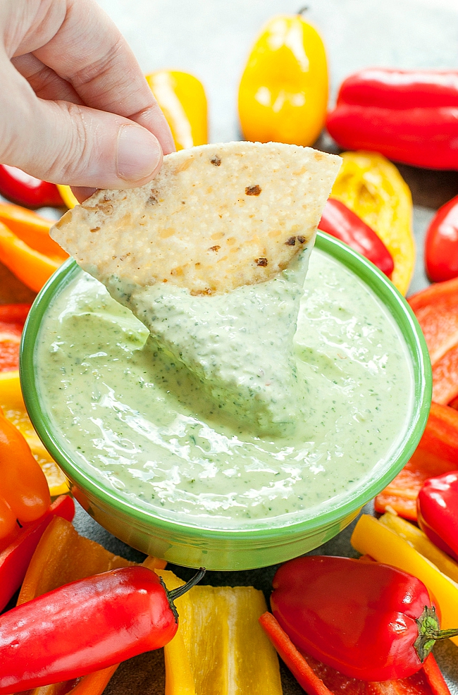Get ready to party with this sassy, spicy 5-minute Jalapeño Dip!