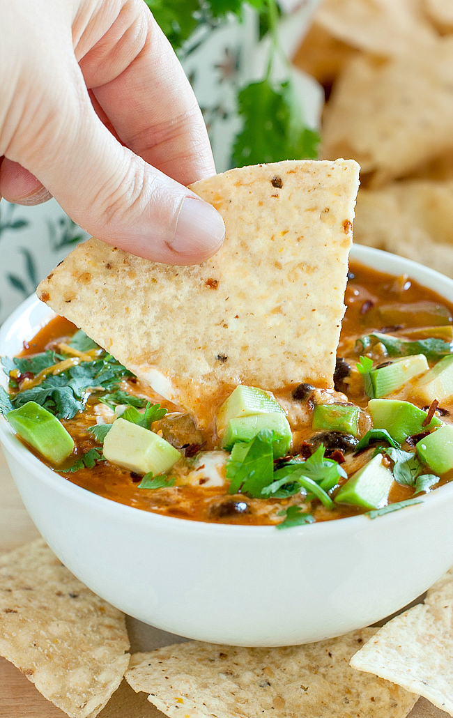 Prepare to fall in love with your leftovers with this deliciously speedy taco soup!