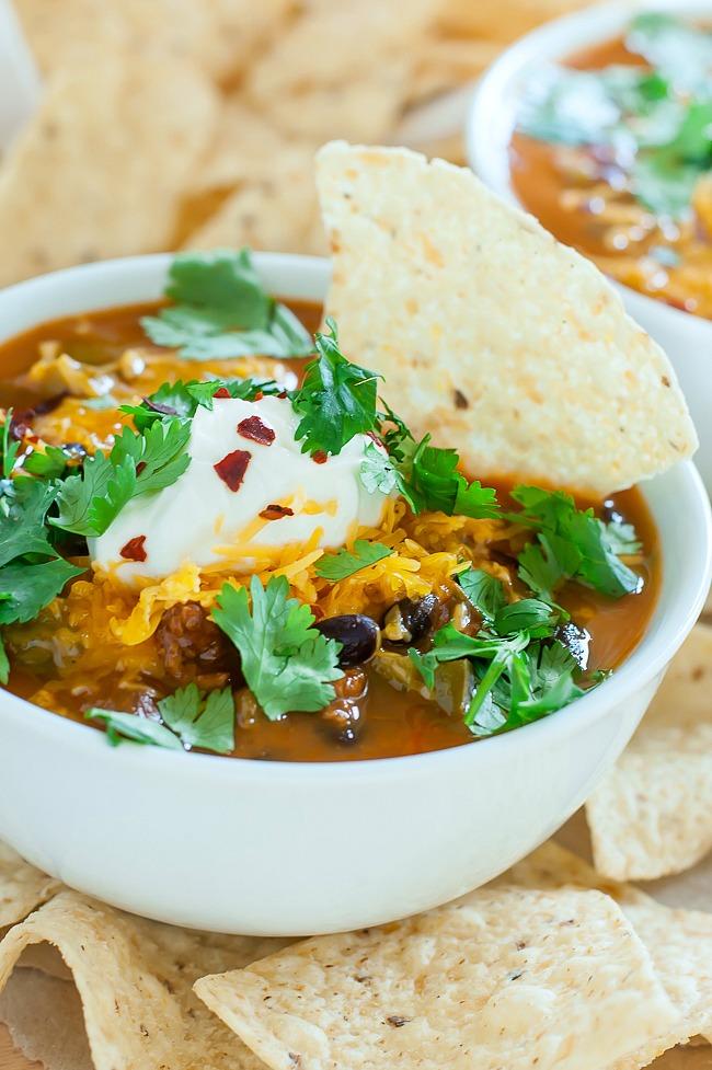 Shortcut Taco Soup Recipe
