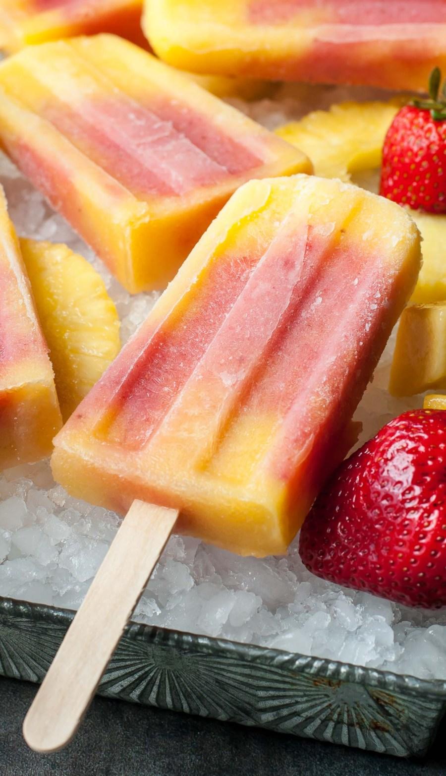 Tropical Fruit Pops Recipe