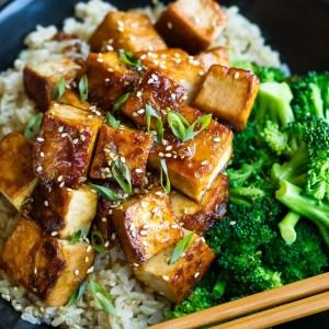 Honey Garlic Tofu