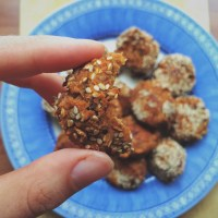 4-ingredient Sweet Potato Falafel.