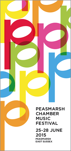 2015 Peasmarsh Festival programme cover