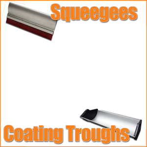 Squeegees - Coating Troughs