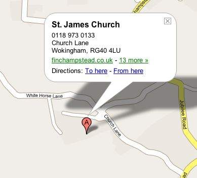 St James Map