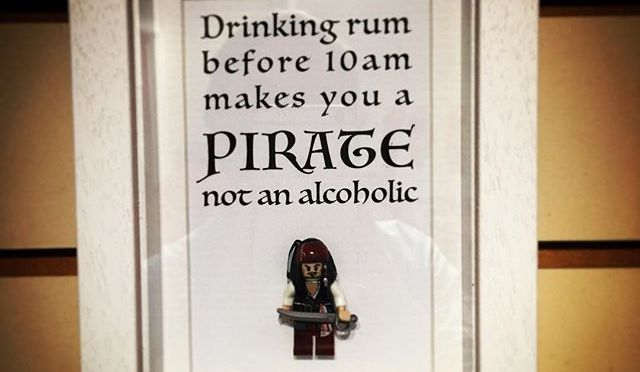 Drinking Rum before 10am…