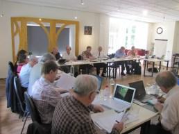 The EB and SAB at work, Leiden 2013. Photo: Susann Warnecke