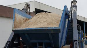 Container met zand