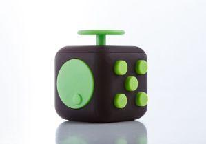 Fidget Cube negru/verde