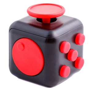 Fidget Cube negru/rosu