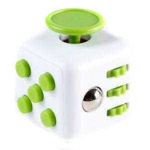 Fidget Cube alb/verde