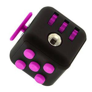 Fidget Cube negru roz