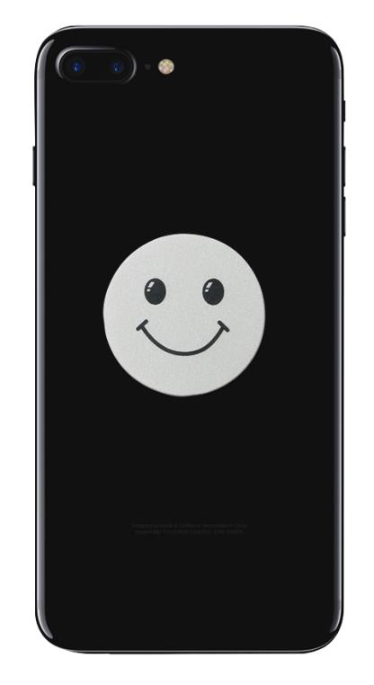 Iphone negru smiley