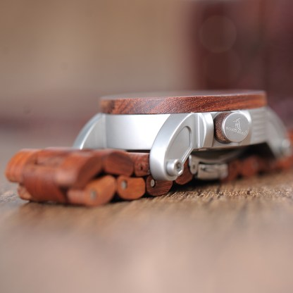 Ceas din lemn curea din lemn