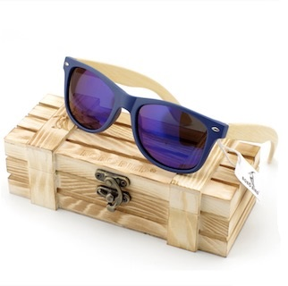 Ochelari de soare Bobo Bird, lentila albastra