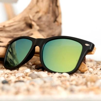 Ochelari de soare Bobo Bird lentila verde