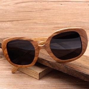 Ochelari de soare polarizati din lemn Bobo Bird dama