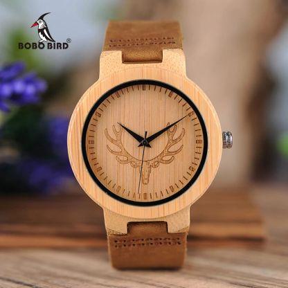 Ceas din lemn Bobo Bird D19