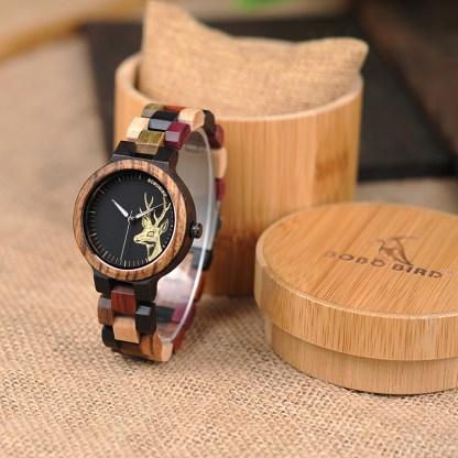 Ceas din lemn Bobo Bird P14-3