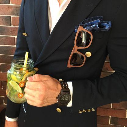 Set ceas din lemn Bobo Bird si ochelari de soare din lemn