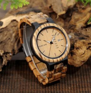 Ceas din lemn Bobo Bird O26