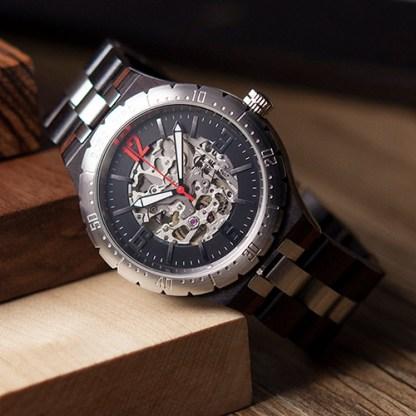 Ceas din lemn Bobo Bird Q29-1