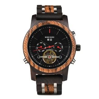 Ceas din lemn Bobo Bird mecanic Q27-3