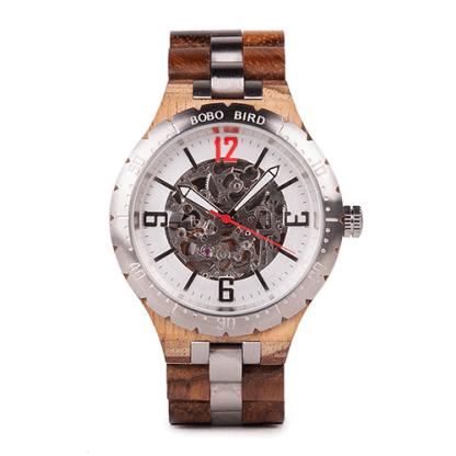 Ceas din lemn Bobo Bird mecanic Q29-2