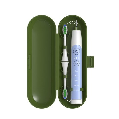 Etui de voiaj pentru periuta de dinti electrica universala Pebadent verde