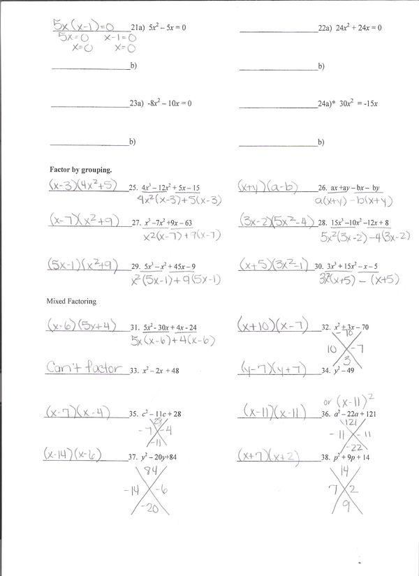 Ms. Salam: Math I Summative Assessment Reviews