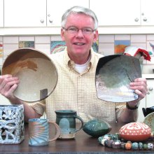 Ceramics will be taught by Jeff Wilson.