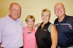 Par Tee First Place Palms Course - Jack and Pat Engelmann, Roberta and Doug Ginter