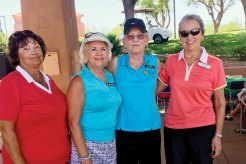 Sun City Grand First Place Front Nine - Linda Smith, Suzanne Butler, Diana Berty, Rosemary Palmer