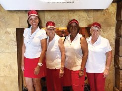 Flight Five: Gloria Shelton, Charleen Duffy, Carolyn Suttles, Carole Escajeda