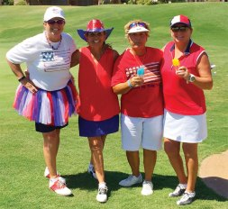 Left to right: Ellen Enright, Marilyn Reynolds, Andrea Dilger, Carol Ratliff