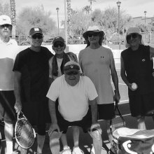 Tennis Club members held a Tequila Sunrise event in July with brunch and cold drinks.