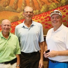 2019 PCMGA Summer Sizzler Gross Winners (left to right): Howie Tiger, William Simmons, and Tom Hume.