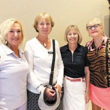 First Place Eagle's Nest back: Claire Tupper, Kris Hanlon, Nancy Hume, and Karen Morgan