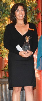 Epifania Torres, Director of Banquet & Catering, directed the winning Quail Creek presentation.