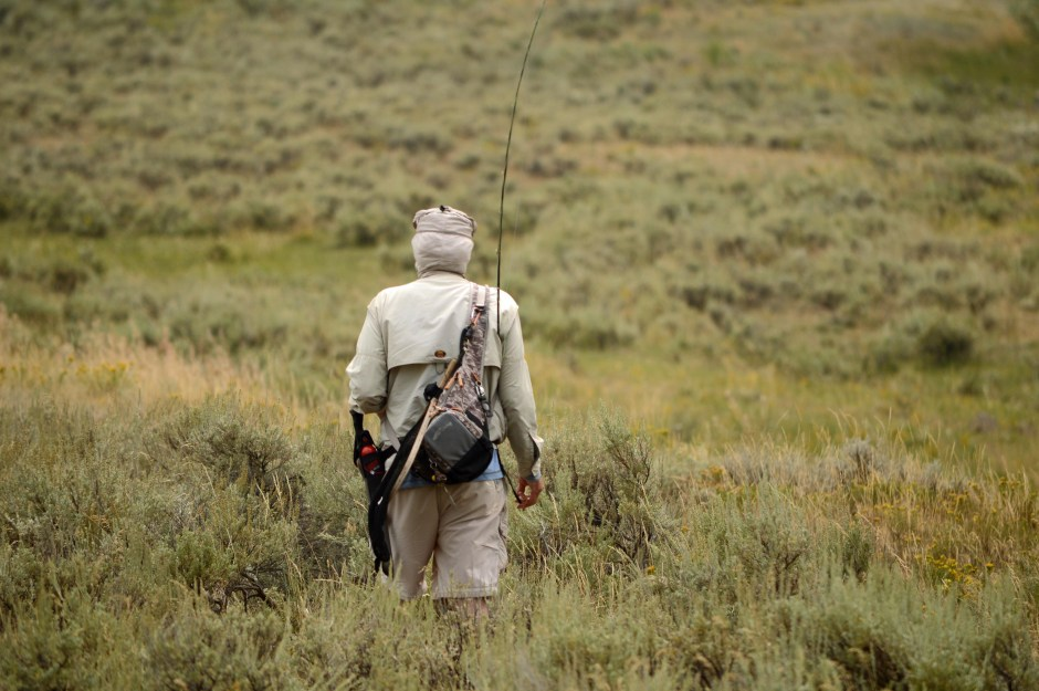 Yellowstone National Park Visitors Guide Fisherman