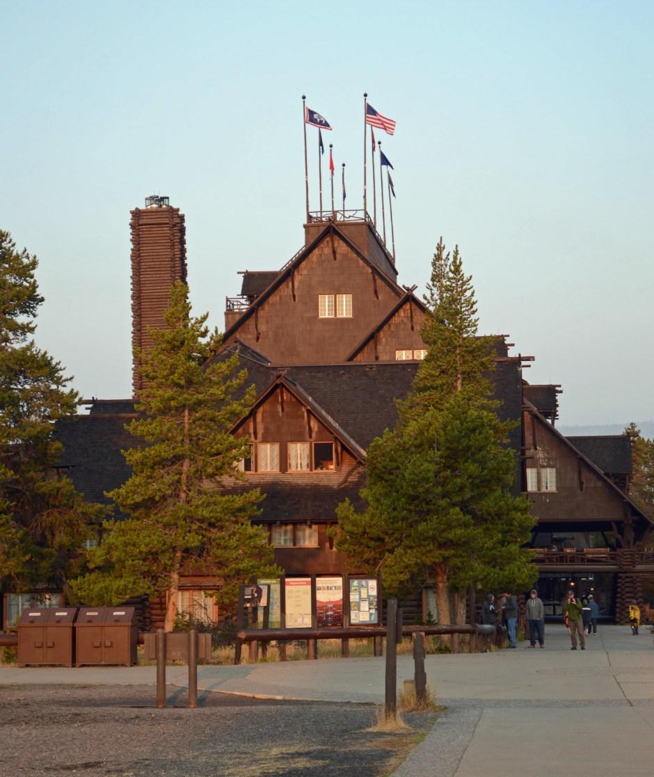 Visit Yellowstone National Park Old Faithful Lodge