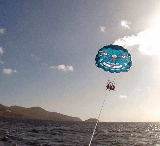 10 Reasons to Travel Parasailing