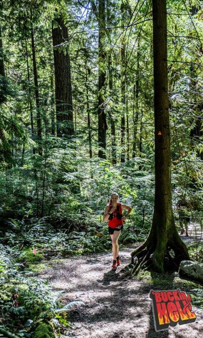 Beautiful forest running. Photo Credit: Brian McCurdy