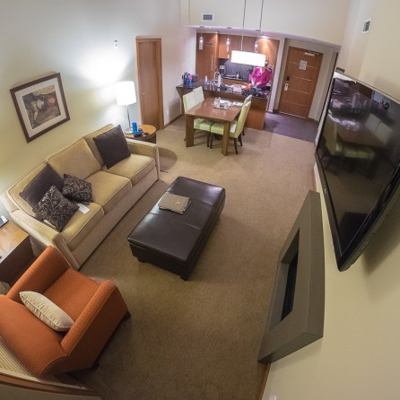 A view of our Suite